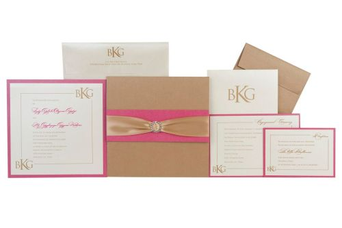 BKG Couture Wedding Invitations by Event House