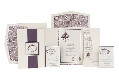 Andreina - Complete Wedding Invitation Ensemble at Event House Houston