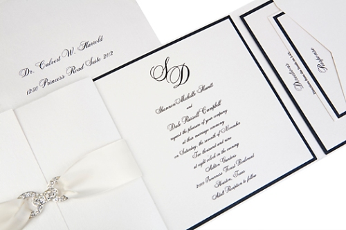 Shannon Couture Formal Wedding Invitations at Event House