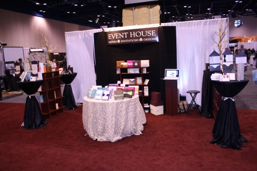 Event House at Bridal Extravaganza Show Houston Texas - January 2010