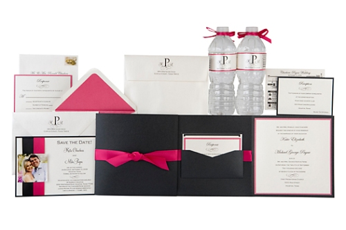 Complete Custom Wedding Stationery Items at Event House Houston