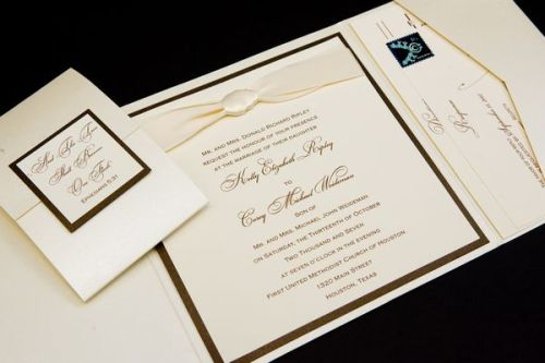 Custom Wedding Invitations at Event House Houston