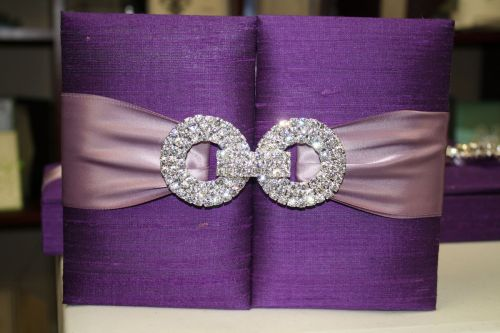 Silk Invitation Boxes - Couture Luxury Invitations by Event House Houston
