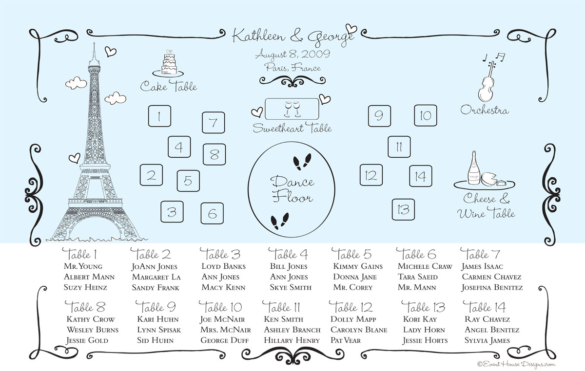 Attractive Wedding Seating Chart Greek Wedding Dresses 50th Wedding Seating Chart  Paris Wedding Seating Charthtml Sample Wedding Seating Chart